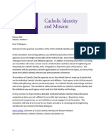 October 2014 Catholic Identity and Mission newsletter