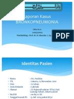 Laporan Kasus Bronkopneumonia