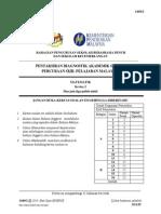Trial Pahang Matematik SPM 2014 K2