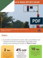 Road Safety Bill 2014 Draft