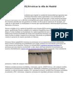 Persianas Eléctricas la villa de Madrid