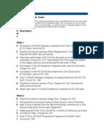 Practice Set Information 2014