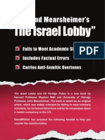 The Israel Lobby Book - Disqualified