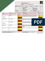 risk assessment reception corridor