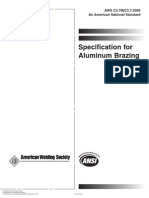 Specification for Aluminum Brazing - American Welding Societ