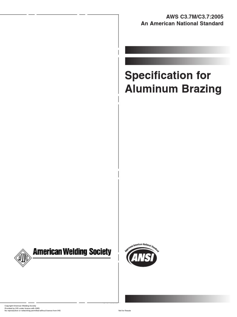 Specification for aluminum brazing american welding societ specification for aluminum brazing american welding societ calibration building materials biocorpaavc Images