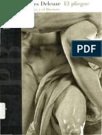 Gilles Deleuze - El Pliegue.PDF