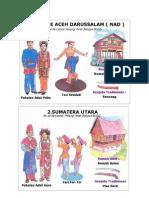 Pakaian Adat 34 Provinsi