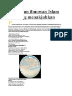 Ciptaan Ilmuwan Islam