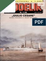 [Modelik 1998 11] - Warships Giulio Cesare