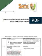 Observaciones a la iniciativa de la Ley General del Servicio Profesional Docente.pdf