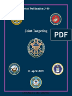 Joint Targeting Acquisition Systems Dod Jp3 60