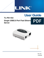 Tl-ps110u User Guide Eng