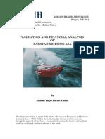Valuation of Farstad Shipping