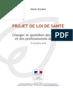 151014_-_Dossier_de_Presse_-_Loi_de_sante.pdf