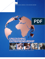 Unleashing Entrepreneurship