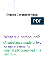 organic compound notes