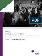 Acumen Essentials Week 2-Aug20141