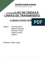 Cabos Condutores.doc