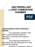 Liquid Rocket Combustion Chamber