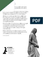 Acumen Manifesto