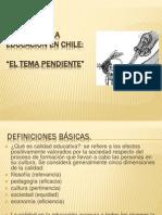 Calidad de la educación en Chile.pptx