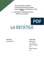 LA ESTATICA DE LA PARTICULA.docx