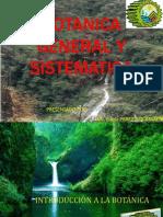 INTRODUCCION DE L BOTANICA GENERAL Y SISTEMATICA ( 1 Y 2 ).pdf