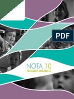 Livro Programa Nota 10 Primeira Infância - 0 a 3 anos.pdf