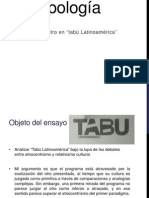 tabú latinoamérica.ppt