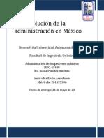 Evolución de la administración en México.docx