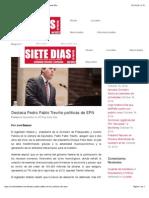 09-09-14 Destaca Pedro Pablo Treviño políticas de EPN