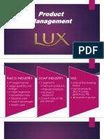 Lux Product Management