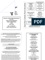 St Felix Catholic Parish Newsletter - 4th Week of Advent 2009