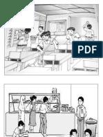 Langkah 1 (Gambar Dan Situasi)