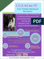 stem out 2014 flyer