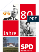 80 Jahre SPD Haimhausen