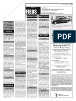 Claremont COURIER Classifieds 10-10-14