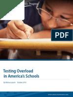 Testing Overload in America's Schools