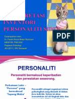 Interpretasi Inventori Personaliti Sidek