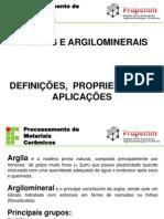 Argilas - definições e propriedades.ppt