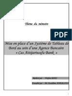 Mise en place d'un Système de Tableau de Bord au sein d'une Agence Bancaire – Cas ATTIJARIWAFA BANK.pdf