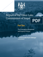 Elliot Lake judicial inquiry report (part two)