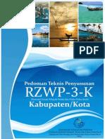 Pedoman Teknis Penyusunan RZWP3K Kab:Kota