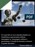 Media Law Ppt