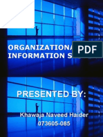 Decision Making Level and Types of Information Systems (Managing Information System)