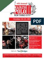 Marco Polo Festival 2014 Poster