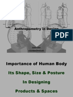 Anthropometry in Design