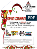 LL Flyer Corporate Company Party