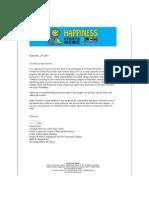 reccommendation letter donna